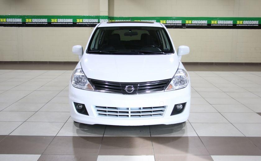 2012 Nissan Versa 1.8 SL AUTO A/C TOIT MAGS #1