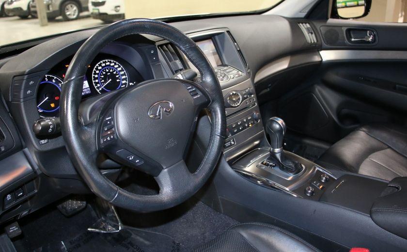 2013 Infiniti G37 Luxury AWD AUTO A/C CUIR TOIT MAGS #8