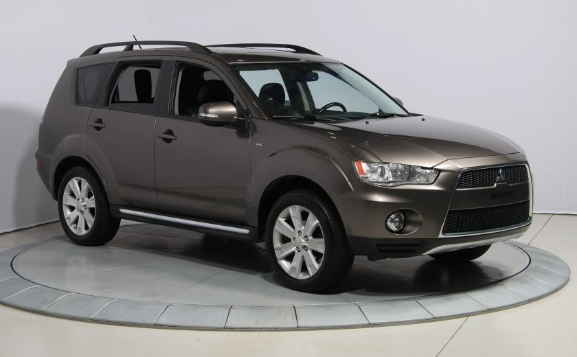 2012 Mitsubishi Outlander GT 4X4 AUTO CUIR TOIT MAGS BLUETOOTH 7PASSAGERS #0