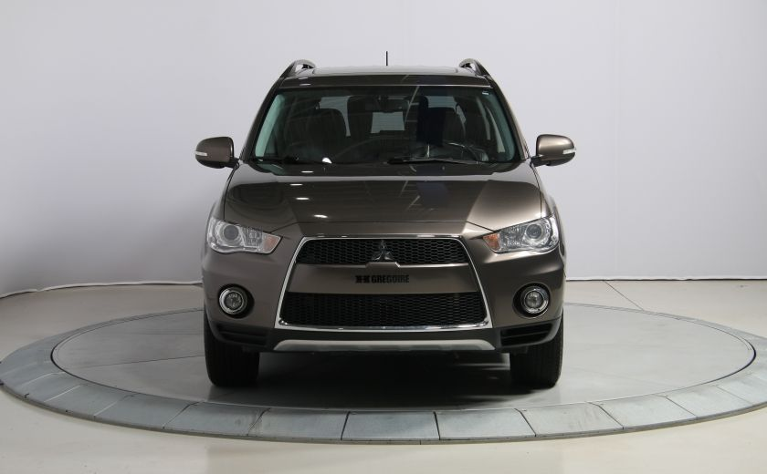 2012 Mitsubishi Outlander GT 4X4 AUTO CUIR TOIT MAGS BLUETOOTH 7PASSAGERS #1