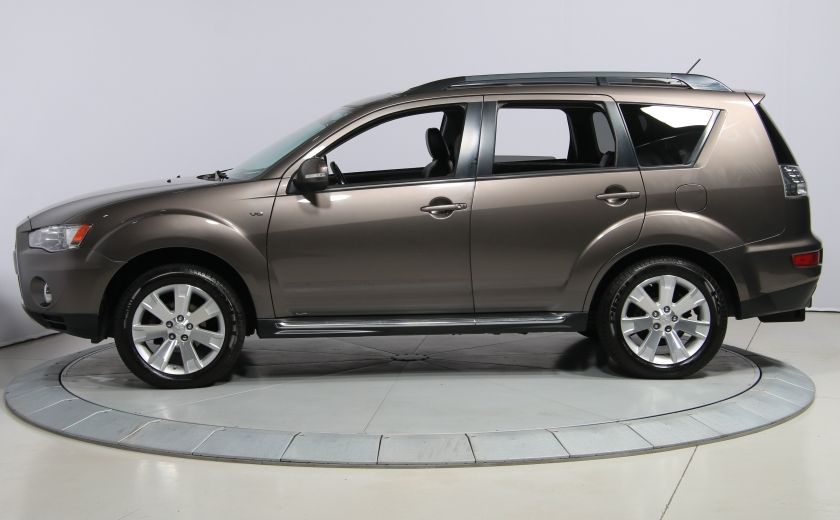 2012 Mitsubishi Outlander GT 4X4 AUTO CUIR TOIT MAGS BLUETOOTH 7PASSAGERS #3