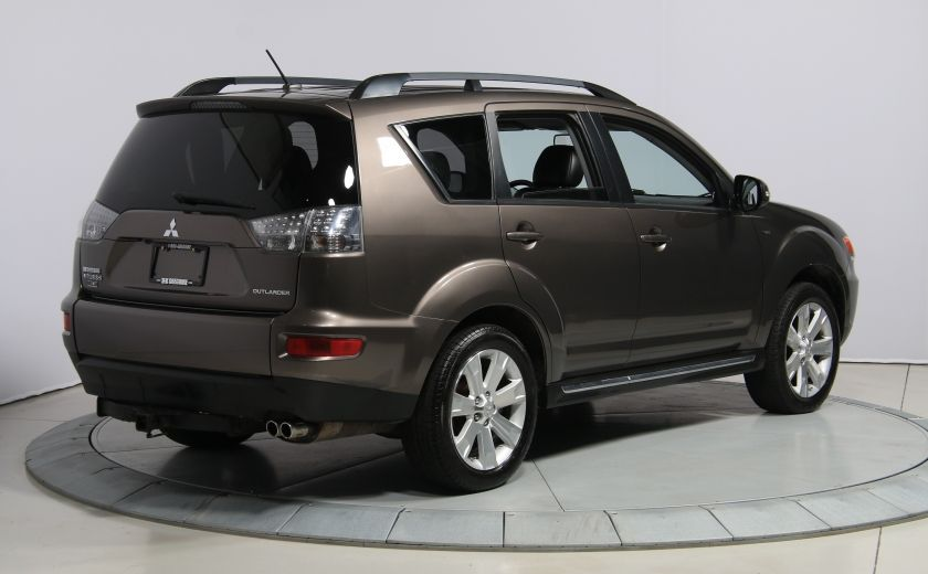 2012 Mitsubishi Outlander GT 4X4 AUTO CUIR TOIT MAGS BLUETOOTH 7PASSAGERS #6