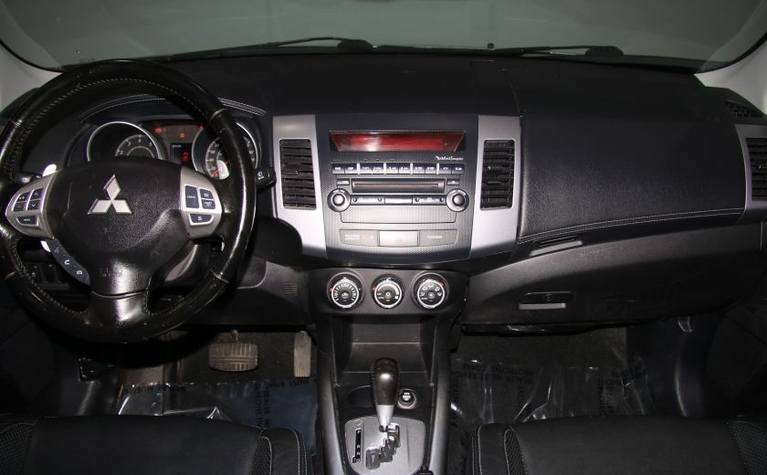 2012 Mitsubishi Outlander GT 4X4 AUTO CUIR TOIT MAGS BLUETOOTH 7PASSAGERS #13