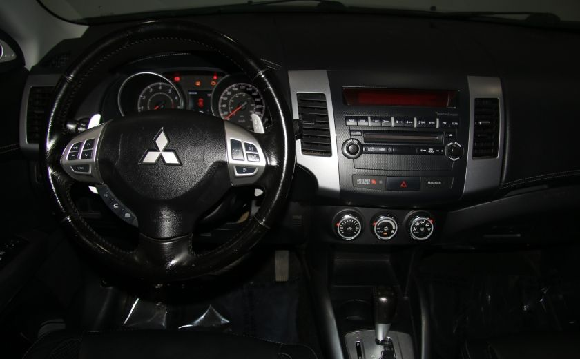 2012 Mitsubishi Outlander GT 4X4 AUTO CUIR TOIT MAGS BLUETOOTH 7PASSAGERS #14