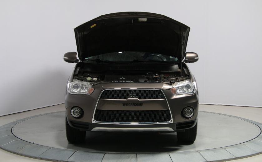 2012 Mitsubishi Outlander GT 4X4 AUTO CUIR TOIT MAGS BLUETOOTH 7PASSAGERS #27