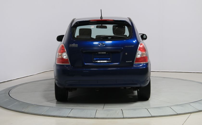 2010 Hyundai Accent GL SPORT A/C TOIT MAGS #5