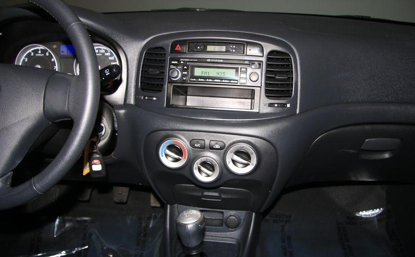 2010 Hyundai Accent GL SPORT A/C TOIT MAGS #15