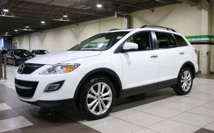 2012 Mazda CX 9 GT AWD CUIR TOIT MAGS BLUETOOTH 7PASSAGERS #2