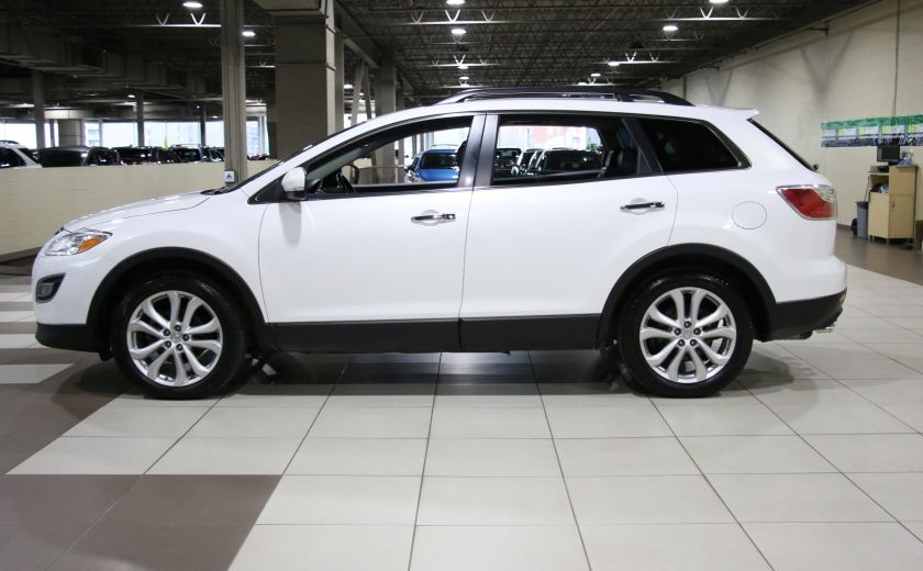 2012 Mazda CX 9 GT AWD CUIR TOIT MAGS BLUETOOTH 7PASSAGERS #3