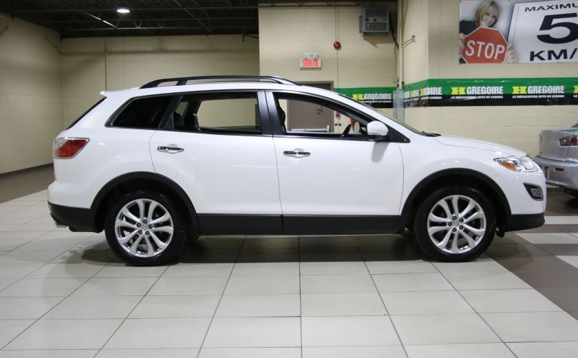 2012 Mazda CX 9 GT AWD CUIR TOIT MAGS BLUETOOTH 7PASSAGERS #6
