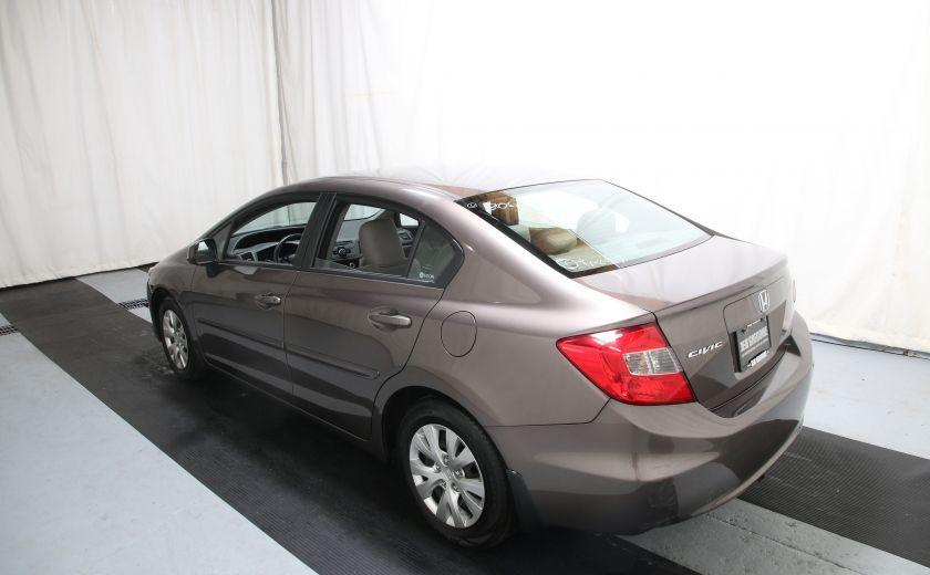 2012 Honda Civic LX #3