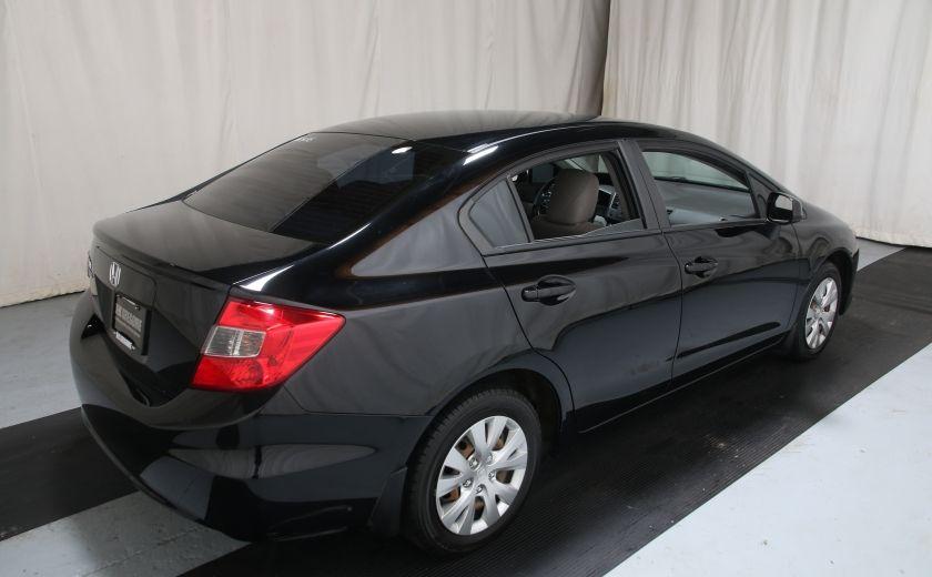 2012 Honda Civic LX #5
