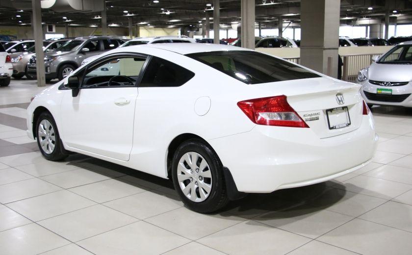 2012 Honda Civic LX AUTO A/C GR ELECT BLUETOOTH #4