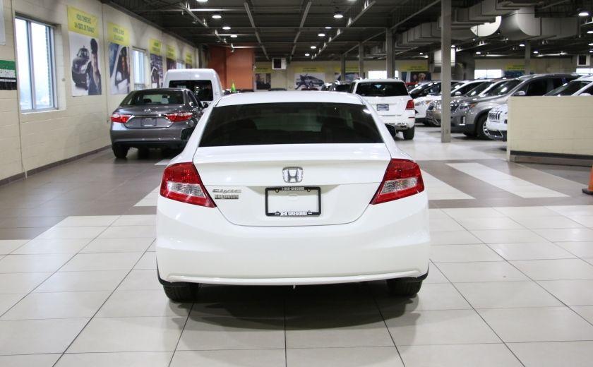 2012 Honda Civic LX AUTO A/C GR ELECT BLUETOOTH #5