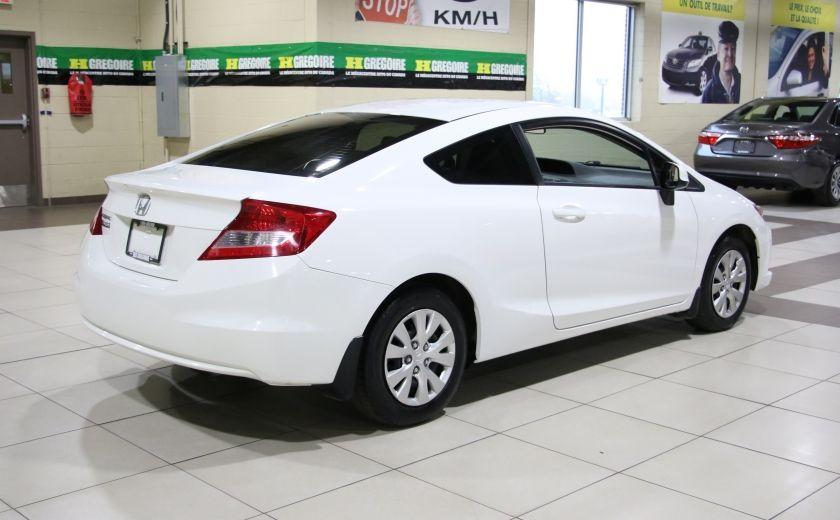 2012 Honda Civic LX AUTO A/C GR ELECT BLUETOOTH #6