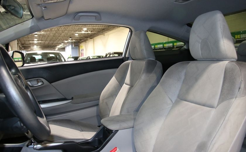 2012 Honda Civic LX AUTO A/C GR ELECT BLUETOOTH #9