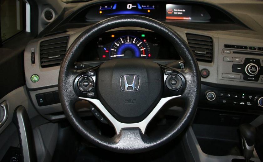 2012 Honda Civic LX AUTO A/C GR ELECT BLUETOOTH #13