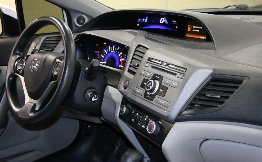 2012 Honda Civic LX AUTO A/C GR ELECT BLUETOOTH #19