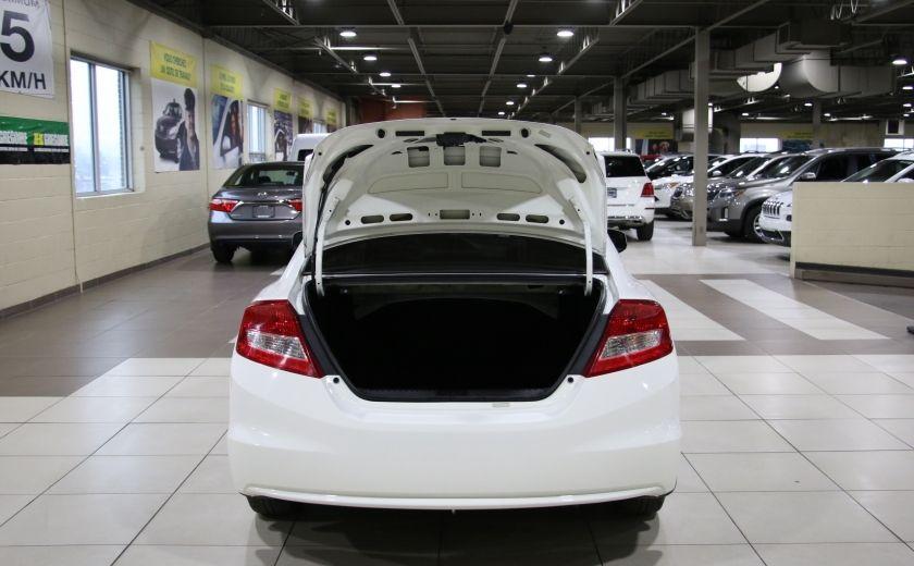 2012 Honda Civic LX AUTO A/C GR ELECT BLUETOOTH #23