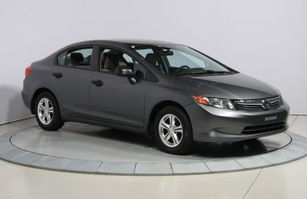 2012 Honda Civic DX MAGS in Abitibi