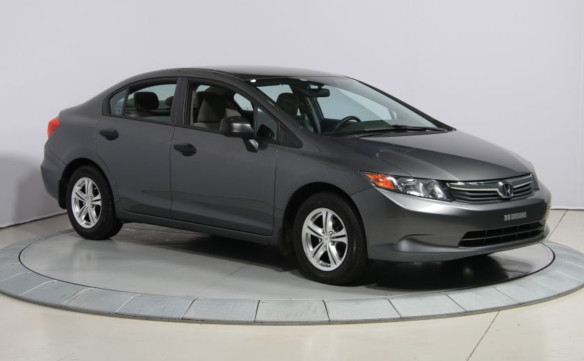 2012 Honda Civic DX MAGS #0