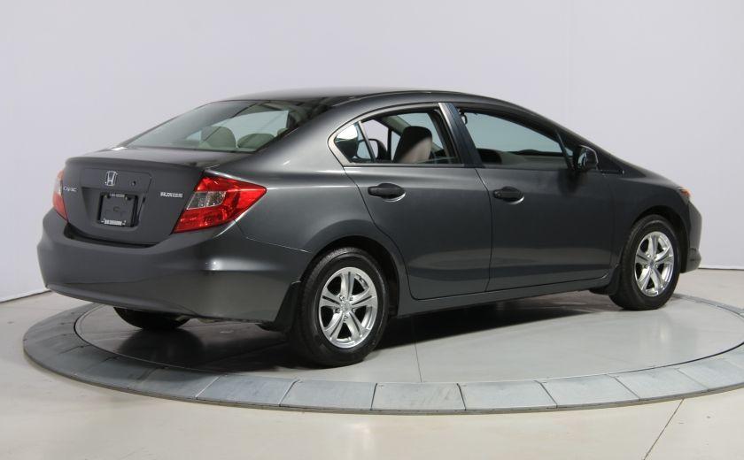 2012 Honda Civic DX MAGS #6