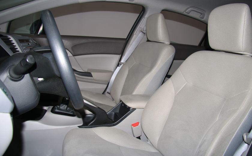 2012 Honda Civic DX MAGS #9