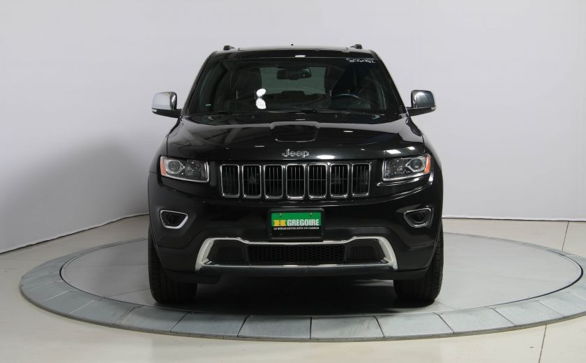 2014 Jeep Grand Cherokee LIMITED AWD CUIR TOIT NAV #1