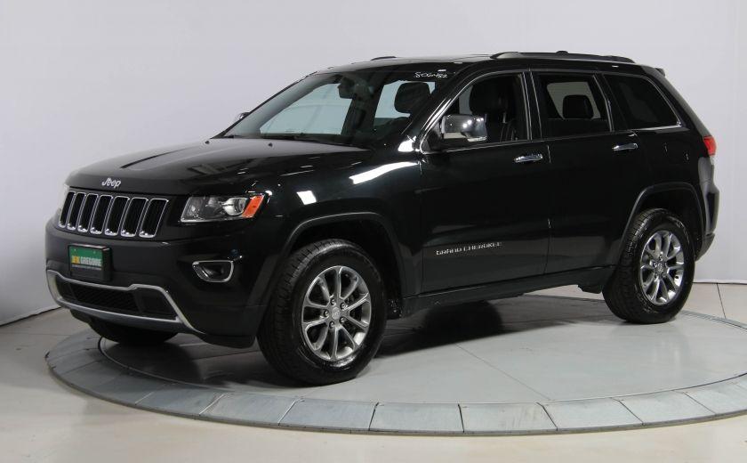 2014 Jeep Grand Cherokee LIMITED AWD CUIR TOIT NAV #2