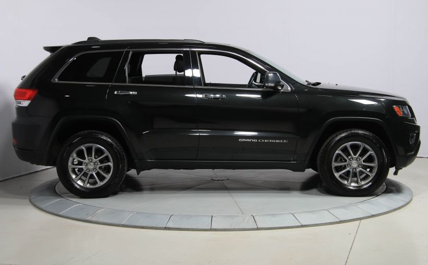 2014 Jeep Grand Cherokee LIMITED AWD CUIR TOIT NAV #7