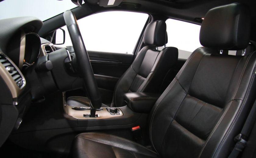 2014 Jeep Grand Cherokee LIMITED AWD CUIR TOIT NAV #9