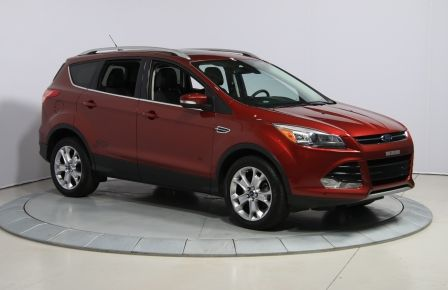 2014 Ford Escape TITANIUM AWD CUIR TOIT PANO NAV PARK ASSIST #0