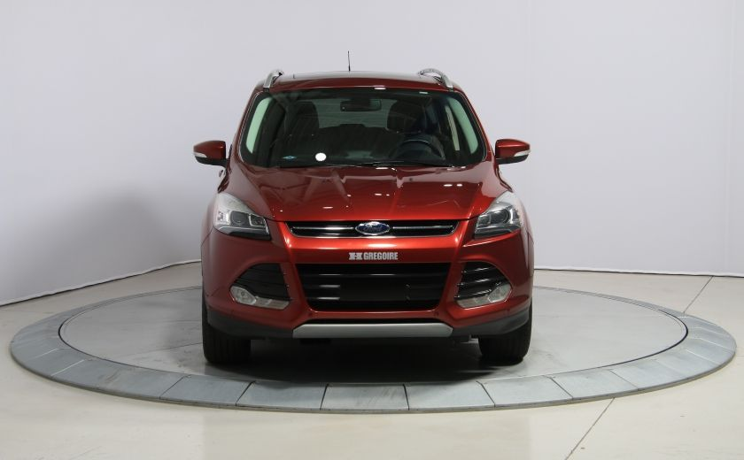 2014 Ford Escape TITANIUM AWD CUIR TOIT PANO NAV PARK ASSIST #1