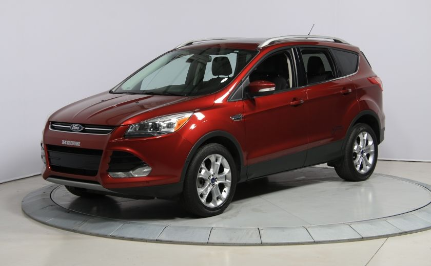 2014 Ford Escape TITANIUM AWD CUIR TOIT PANO NAV PARK ASSIST #2