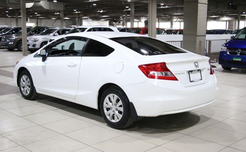 2012 Honda Civic LX A/C GR ELECT BLUETOOTH #4