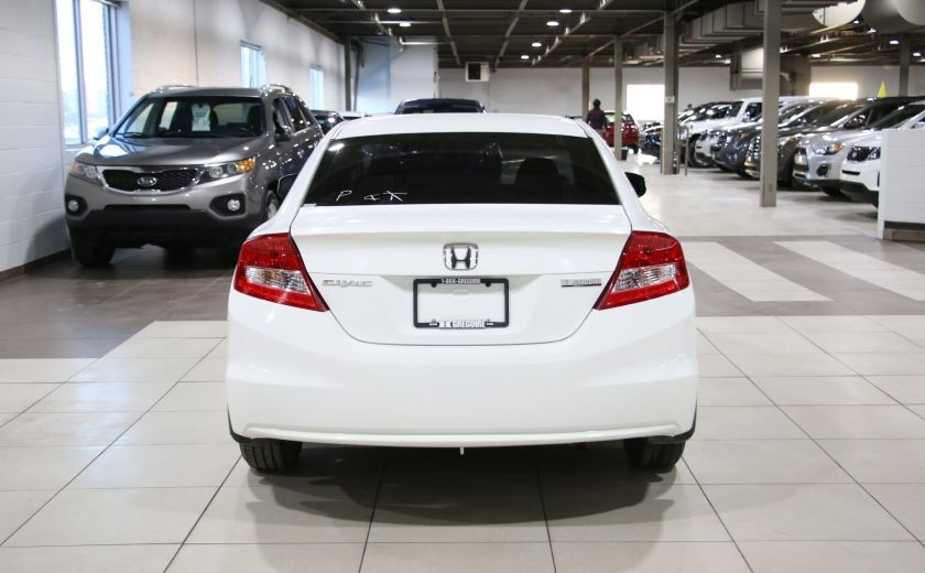 2012 Honda Civic LX A/C GR ELECT BLUETOOTH #5
