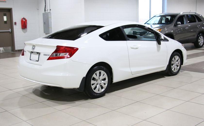 2012 Honda Civic LX A/C GR ELECT BLUETOOTH #6