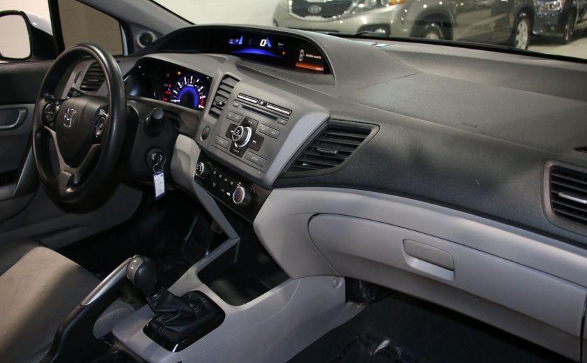 2012 Honda Civic LX A/C GR ELECT BLUETOOTH #14