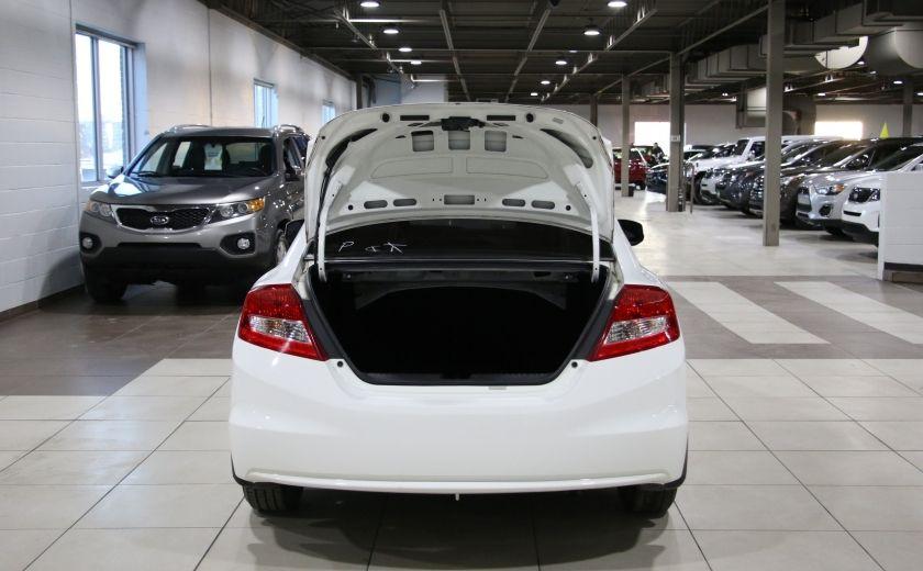 2012 Honda Civic LX A/C GR ELECT BLUETOOTH #19
