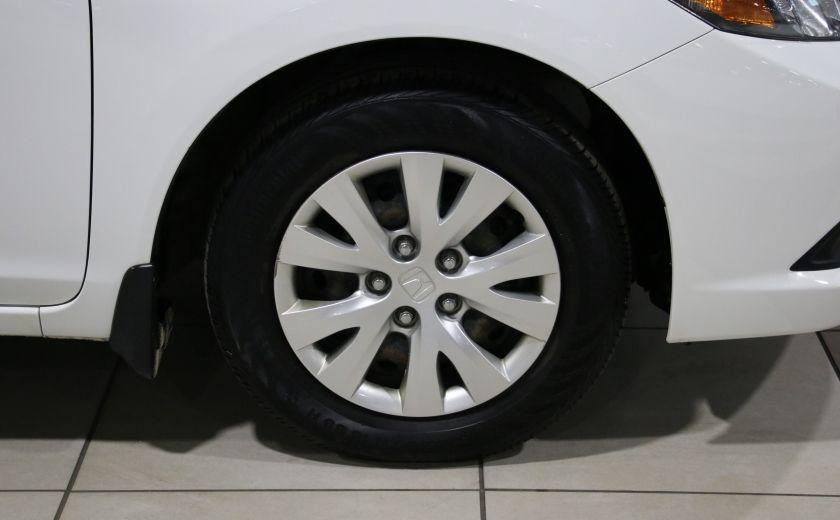 2012 Honda Civic LX A/C GR ELECT BLUETOOTH #21