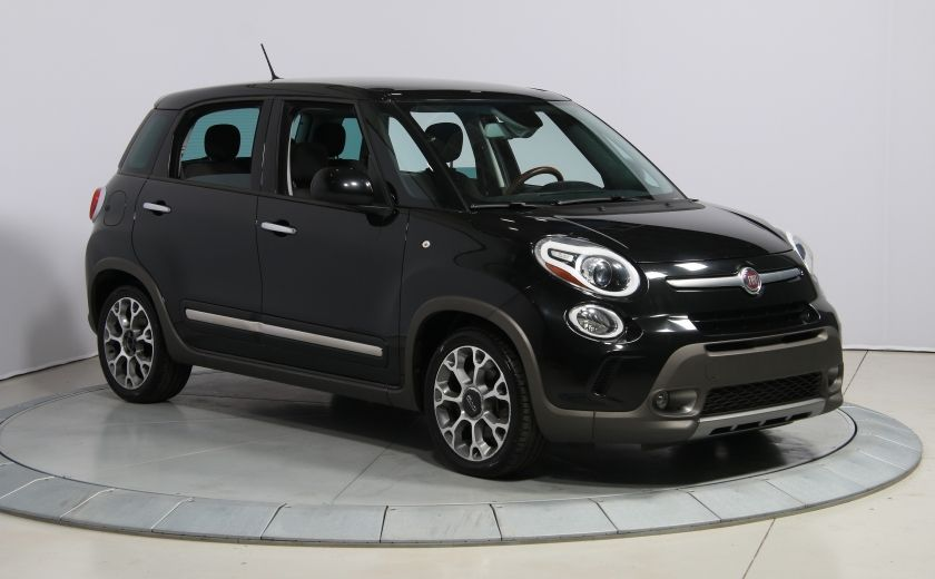 2014 Fiat 500L Trekking AUTO A/C TOIT PANO MAGS BLUETOOTH #0