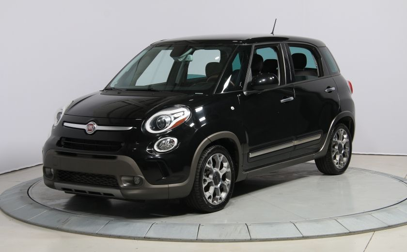 2014 Fiat 500L Trekking AUTO A/C TOIT PANO MAGS BLUETOOTH #2