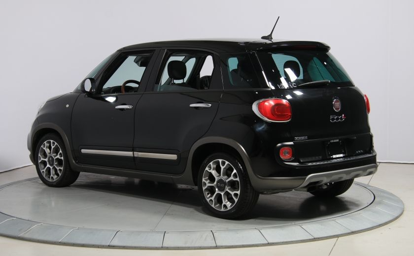 2014 Fiat 500L Trekking AUTO A/C TOIT PANO MAGS BLUETOOTH #4