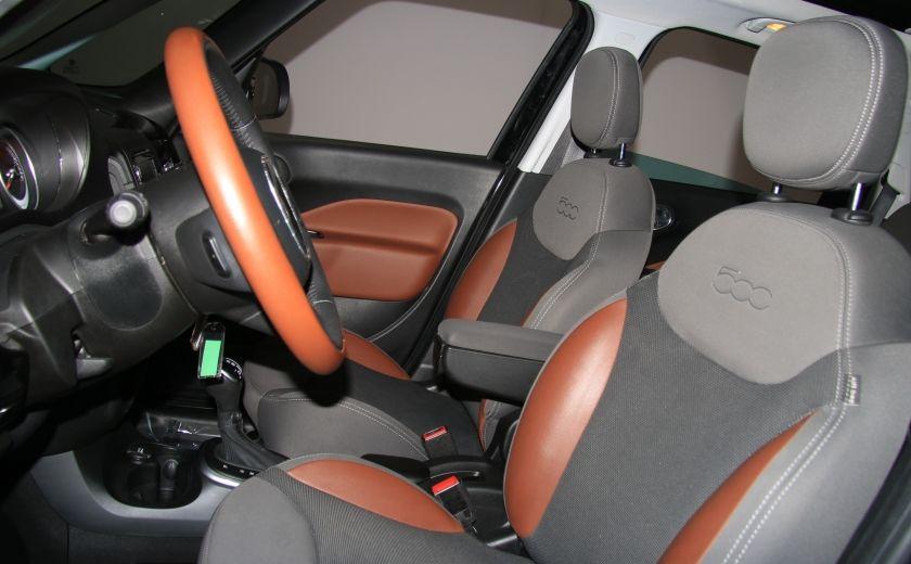 2014 Fiat 500L Trekking AUTO A/C TOIT PANO MAGS BLUETOOTH #9