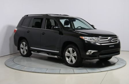 2012 Toyota Highlander 4WD CUIR TOIT MAGS BLUETOOTH CAM.RECUL 7PASSAGERS #0