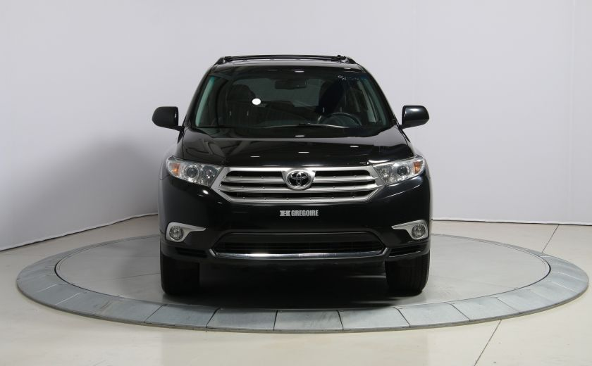 2012 Toyota Highlander 4WD CUIR TOIT MAGS BLUETOOTH CAM.RECUL 7PASSAGERS #1