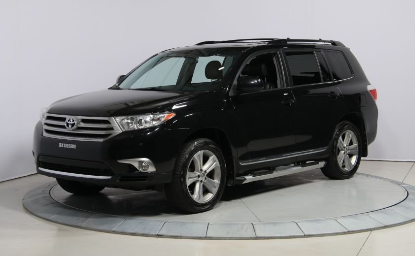 2012 Toyota Highlander 4WD CUIR TOIT MAGS BLUETOOTH CAM.RECUL 7PASSAGERS #2