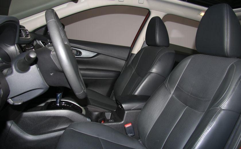 2014 Nissan Rogue SL AWD CUIR TOIT NAV CAMERA 360 DEGRÉS #9