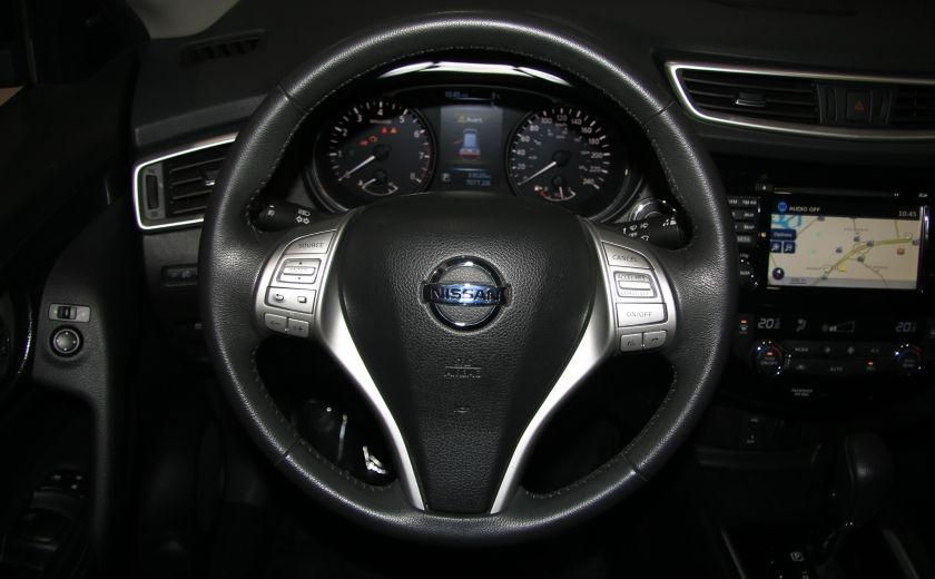 2014 Nissan Rogue SL AWD CUIR TOIT NAV CAMERA 360 DEGRÉS #15