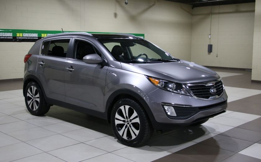 2013 Kia Sportage EX LUXE AWD CUIR TOIT PANO MAGS #0